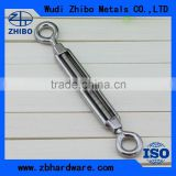 Rigging hardware stainless steel turnbuckle heavy duty turnbuckle DIN1480 with eye and eye