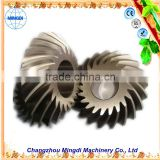 portable boring machine Helical Spiral Bevel Gear Transmission Parts for towing truck