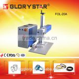 portable fiber laser marking/engraver machine with aluminum,copper,stainless steel,golden,rings,jewllery metal and nonmetal
