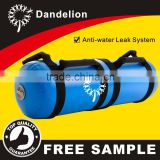 blue sports fitness gym training pvc water power aqua bag