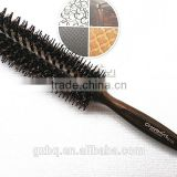2014 hot sale boar-bristle brush round salon hair comb