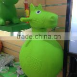 inflatable jumping animal horse/horse hopper ball