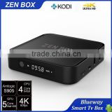 2016 Professional Brand Zen-Box Android TV Box 2G/8G Android 5.1 Amlogic S905 4K HD Video Free Download Smart TV Box IPTV