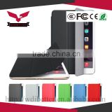 Slim Magnetic PU Leather Smart Cover + Hard Back Case For Apple iPad 5 air 2015                                                                         Quality Choice