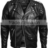 black leather Jackets for boys / fashion boys leather jackets /latest fashion jackets / Natural leather jackets