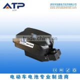 Wholesale 24v 10ah li ion battery pack / 24v Frog Style electric bike battery / E-bike Battery