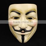 V For Vendetta Guy Fawkes Mask for Halloween Costume Fancy Dress Cosplay unisex