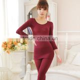 Warm Corset Underwear] Soft and Light Bodysuit Corset Warm Suit black color wine red color Y110
