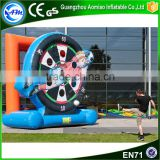 Popular football target training game inflatable soccer dummy for sale