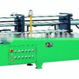 Manual tube drawing and butting machine
