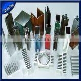 black and white anodized aluminium profile for door and window makings                                                                         Quality Choice