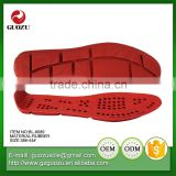 mens durable casual leather elastic rubber shoes sole