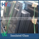 Glass factory wholesale high quality and best price tinted coated insulated building glass window and doors