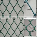 Sports ground chain link fence/Hot Dipped Galvanized Farm Fencing Chain Link Fence/cheap garden fence Yaqi supply