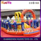 lovely ocean inflatable combo,inflatable bouncer for kids