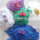 Polyester Mop Head Material and Plastic Pole Material Polyester cotton end loop mop head