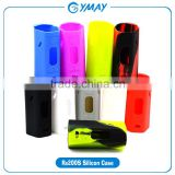 Wholesale e cigarette reuleaux rx200s silicone case cover protective sleeve for 200w ecig rx 200s vape tc box mod