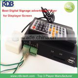 RDB Hot selling RS232 Control Sex Video Advertising Media Player DS005-73