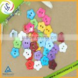 colorful lovely star pattern Resin sewing buttons crystal resin button garment resin button
