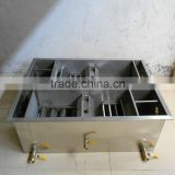 No power Portable grease trap for restaurant kitchen