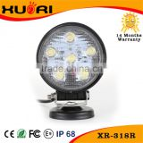 Factory Price Super Round Epistar 1350lm 18w Led Tractor Work Light Car Sale Used Cars Sale Super Bright Led Work Light