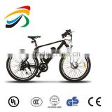 36v mountain bike with disc brake, brushless controller with pedals assistant