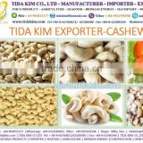 CASHEW NUTS W210 W240 W320 W450 TIDA KIM - BLACK WHITE PEPPER - ORGANIC COCONUT WATER DESICCATED FLAKE FINE GRADE