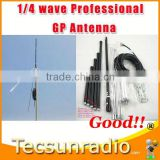 Fmuser 1/4 wave Professional GP Antenna flat satellite antenna