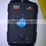 V8 Taiwan speed control laser radar detector, V9 car anti laser cobra radar detector