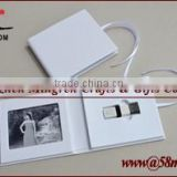 2015 Wedding photo CD DVD USB Cover Folio Box Leather frame