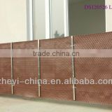 Balcony protection cover mat-synthetic rattan material