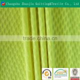 100 Polyester Microfiber Tricot Mesh Fabric / Sports mesh fabric / Environmental breathable mesh fabric