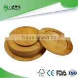 decoration bamboo dry fruit tray