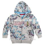 (A3053) 2016 wholesale 2-6Y kids casual wear boys kids t shirts hoody coat children clothes embroidery