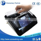 Android BT touch screen pos system all in one with receipt thermal printer QR barcode scanner M680