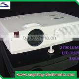 movie theater 3 lcd display video projector low noise with HDMI/USB TV tuner short throw hdmi projector