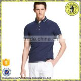 Sample Polo Shirt For Casual Work Uniforms With Short Sleeve T-Shirt Design