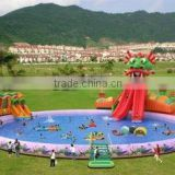 QH-WP-23-inflatable water park game for adults and kids/water park equipment/amusement aquatic parks equipment