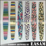 2015NEW !!!!!! nails files 100 180 print logo cheapest !!!triangle nail file/file nail/foam nail file
