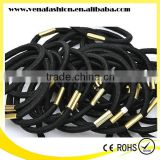 yiwu hair accessories with metal black kknekki elastics hair band                                                                                         Most Popular