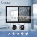 2016 top supplier Tansive construction aluminium bulletproof glass door and window system