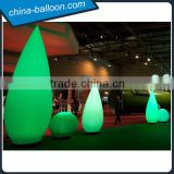 inflatable led wick / lighting inflatable ground decoration from China
