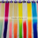 rainbow color hair extension light pink fantastic color hair extensions two tone hair extension