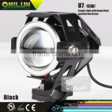 15W LED Projector Headlight with Angel eyes For Honda motorcycle bikes