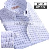 casual banded collar shirts for men hand embroidered fashion shirts Made In China