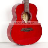 HS-C1-TRD China guitars 36 inch colour travel vintage acoustic guitar