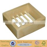 natural soap dish bathroom wood soap dish