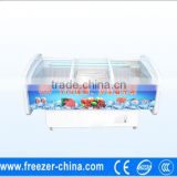 Factory sale hight guality and low price island display type freezer used in supermarket or store