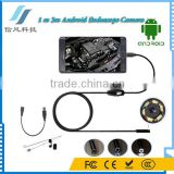 0.3MP 6 LED 7mm Lens IP67 Waterproof Mini USB Android Phone Endoscope Camera Snake Inspection Camera