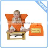Infant Baby Travel High Chair Seat Cover Orange